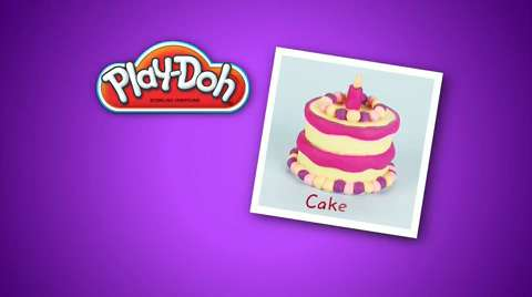 Play-Doh Look What I Made Cake Video