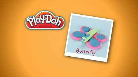Play-Doh: Look What I Made Butterfly Video