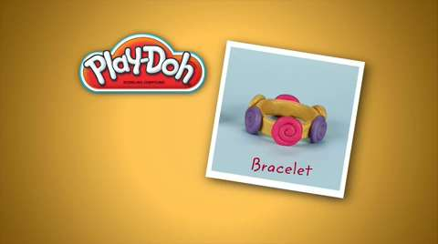Play-Doh: Look What I Made Bracelet Video