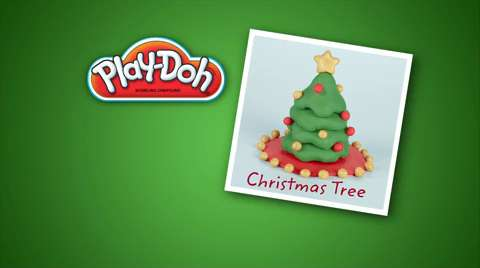 Play-Doh Look What I Made Christmas Tree Video