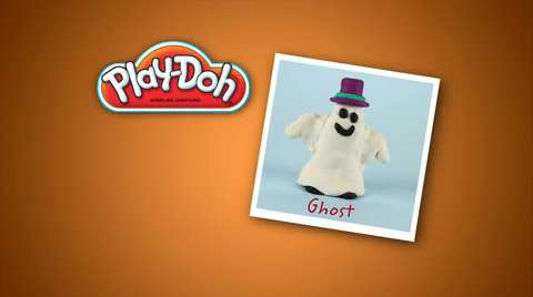 Play-Doh Look What I Made Friendly Ghost Video