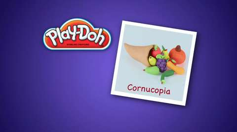 Play-Doh Look What I Made Cornucopia Video