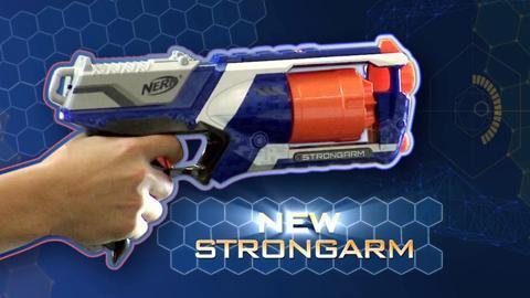 NERF N-STRIKE ELITE STRYFE, STRONGARM, and FIRESTRIKE Blasters TV Commercial