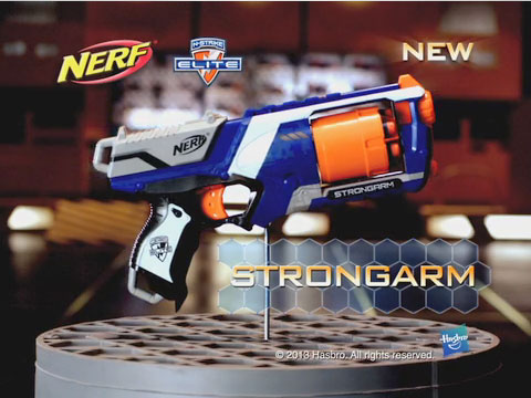 NERF N-STRIKE ELITE STRONGARM Blaster TV Commercial