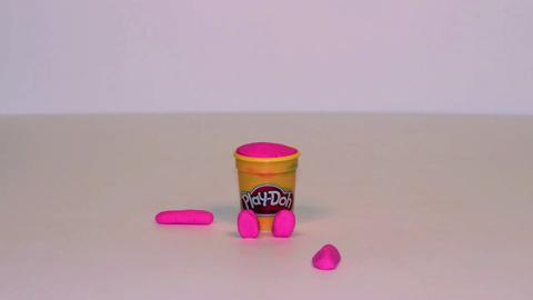 Stop Motion Pink Doh Doh