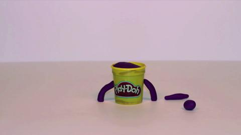 Stop Motion Purple Doh Doh