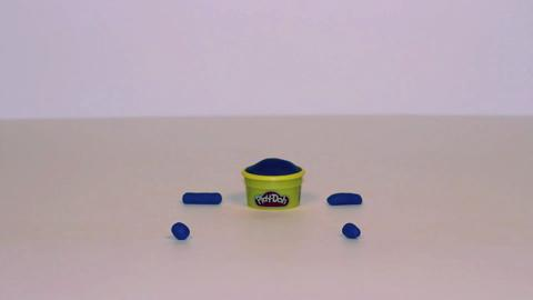 Stop Motion Blue Doh Doh