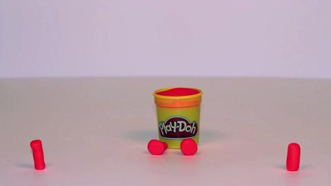 Stop Motion Orange Doh Doh