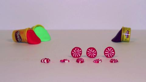 Stop Motion Peppermint Swirls