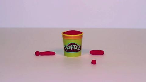 Stop Motion Red Doh Doh