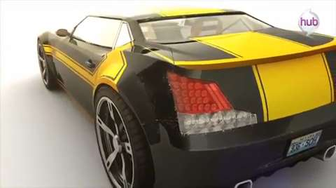 Transformers Prime Beast Hunters - Bumblebee Car Promo