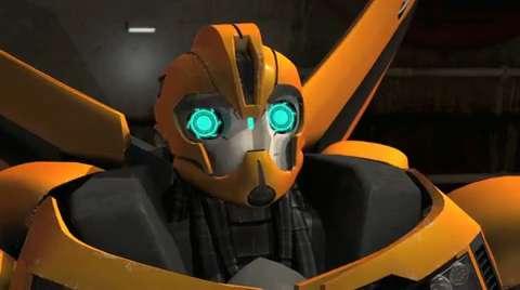 Transformers Into the Hunt Bumblebee Bio