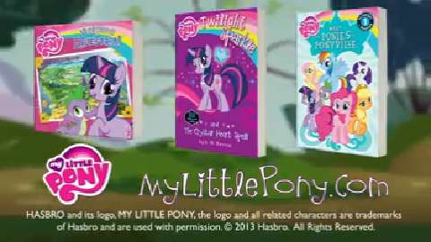 TV Commercial MLP Books
