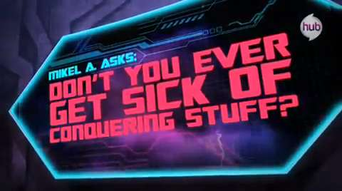 Transformers Prime: Ask Megatron – Don't you ever get sick of conquering stuff?