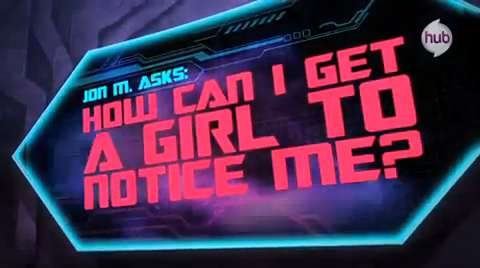 Transformers Prime: Ask Megatron — How Can I Get A Girl To Notice Me?