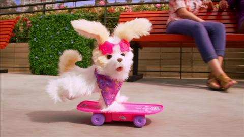 FurReal Friends Trixie the Skateboard Pup
