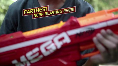 NERF N-Strike Elite Mega Centurion TV Commercial