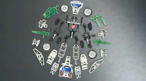 Transformers Construct-Bots Wheeljack Instructional Video