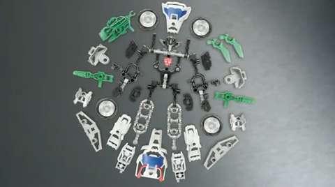 Transformers Construct-Bots Wheeljack Instructional Video