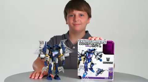 Transformers Construct-Bots Soundwave Instructional Video